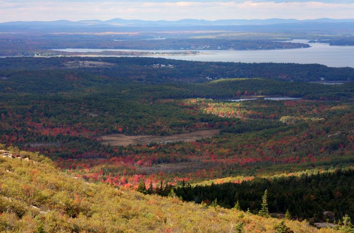 Cadillac Mountain photo, Acadia National Park, Maine
