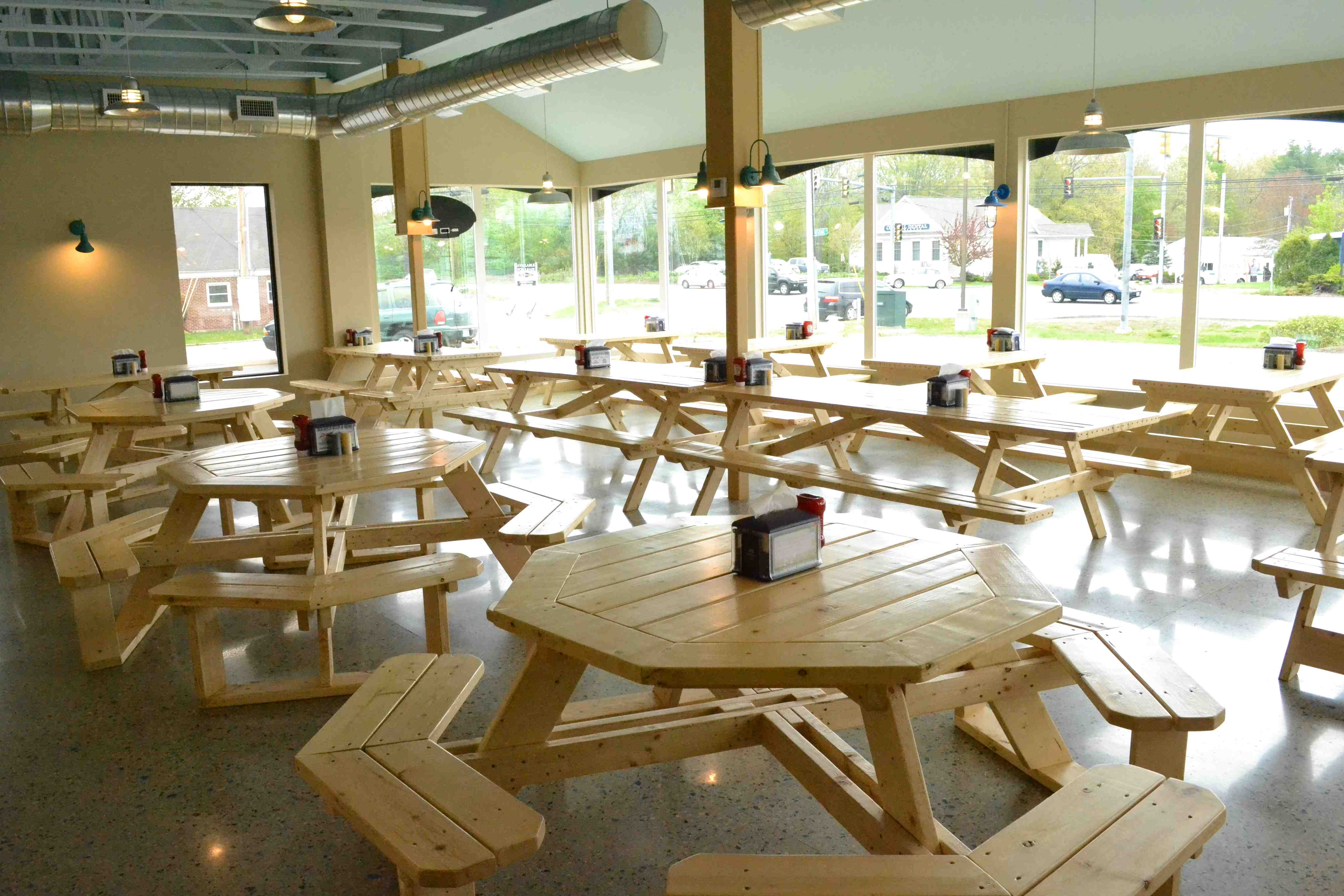 Seating at the Beach Plum in Portsmouth, New Hampshire