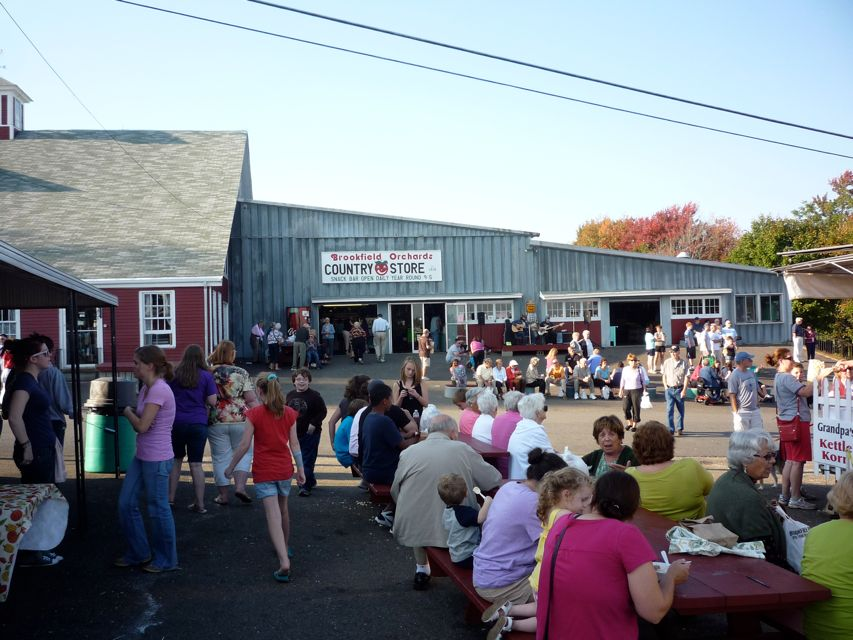 Photo of Harvest Weekend at Brookfield Orchards, North Brookfield MA