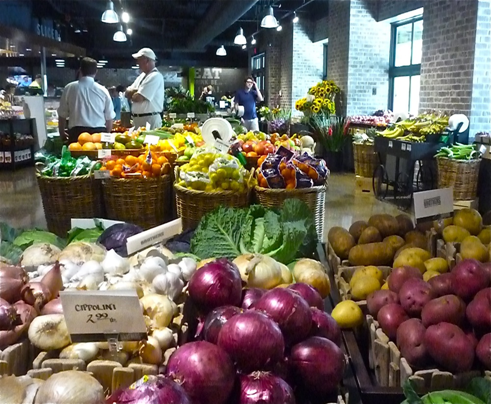 Produce from Brothers Marketplace in Medfield, Massachusetts