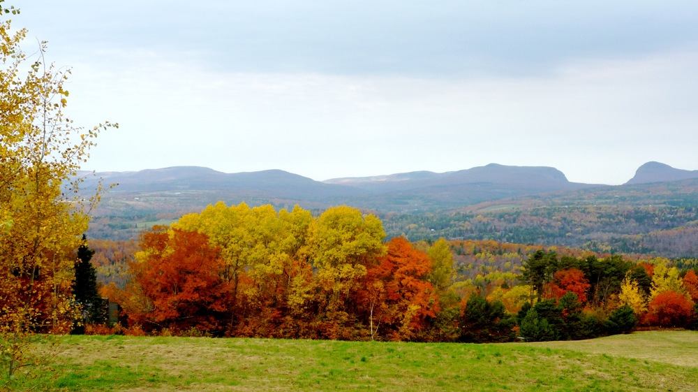 Burke Mountain in the Northeast Kingdom of Vermont.
