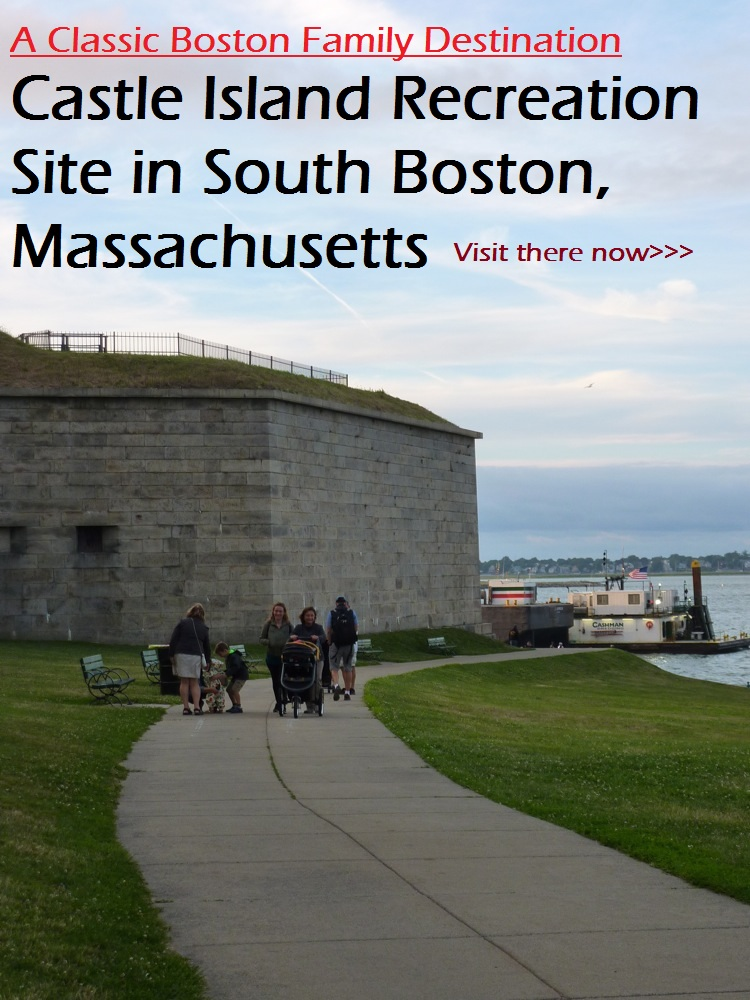 Why the Castle Island recreation site is a must-see family destination when visiting Boston, Massachusetts.