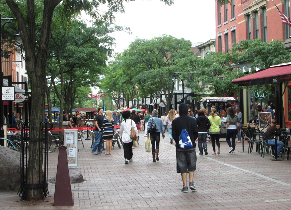 Burlington VT - Church Street Marketplace