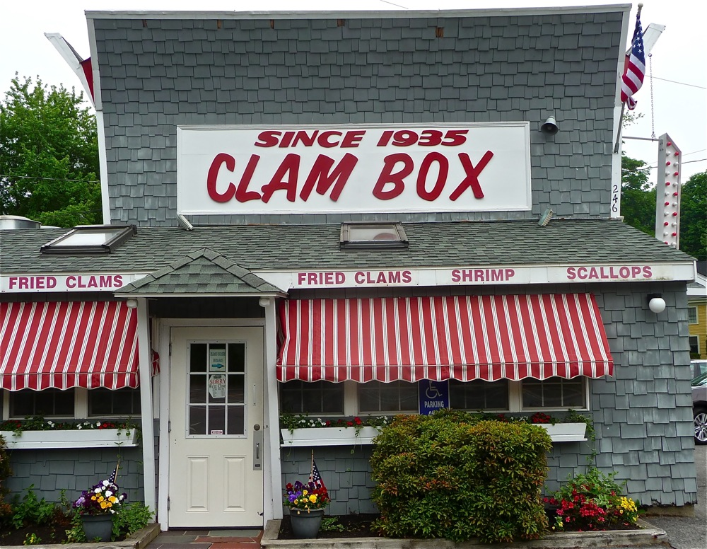 The Clam Box, Ipswich, Massachusettss