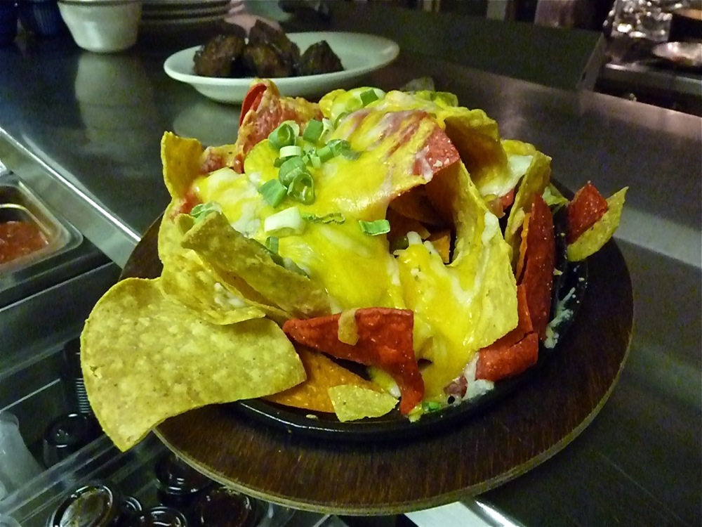 Nachos from Clyde's in Walpole MA