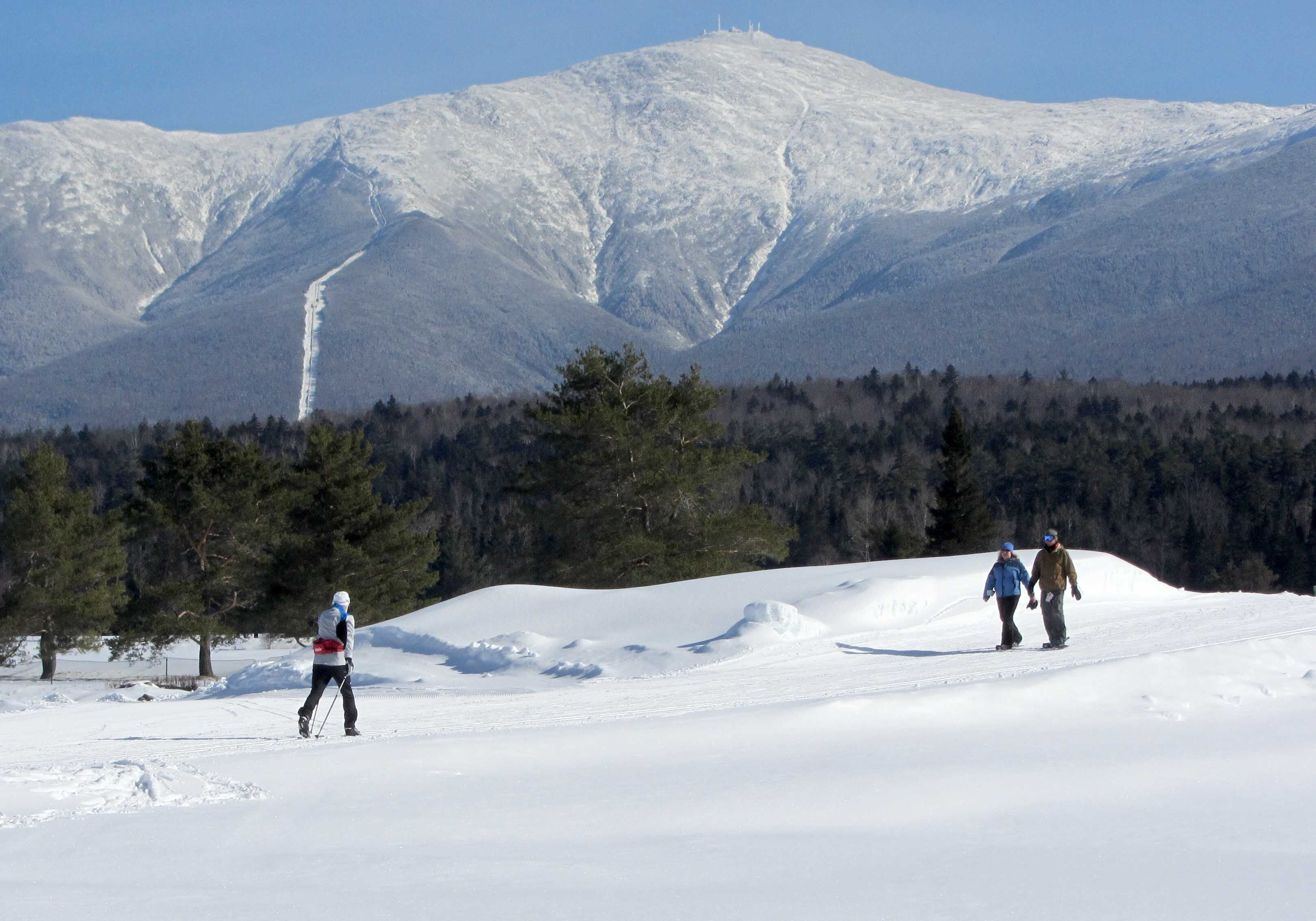 Bretton Woods Cross Country Skiing, New Hampshire