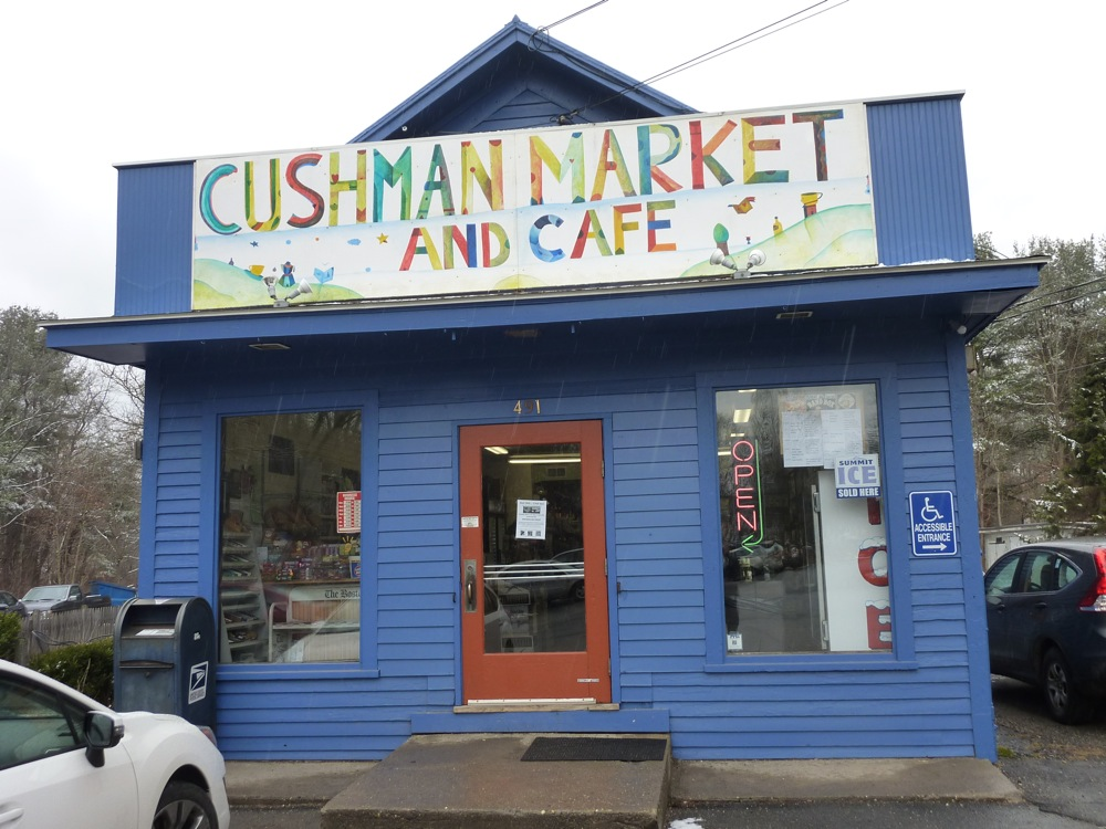 Cushman Market and Cafe in Amherst, Massachusetts
