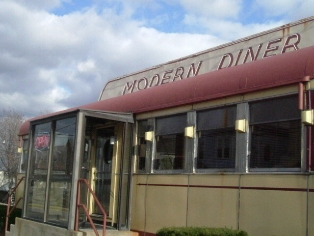 Modern Diner in Pawtucket RI.