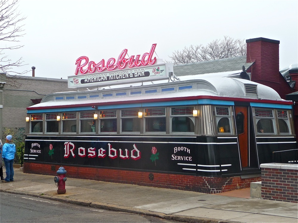 Rosebud Diner in Somerville, Massachusetts.