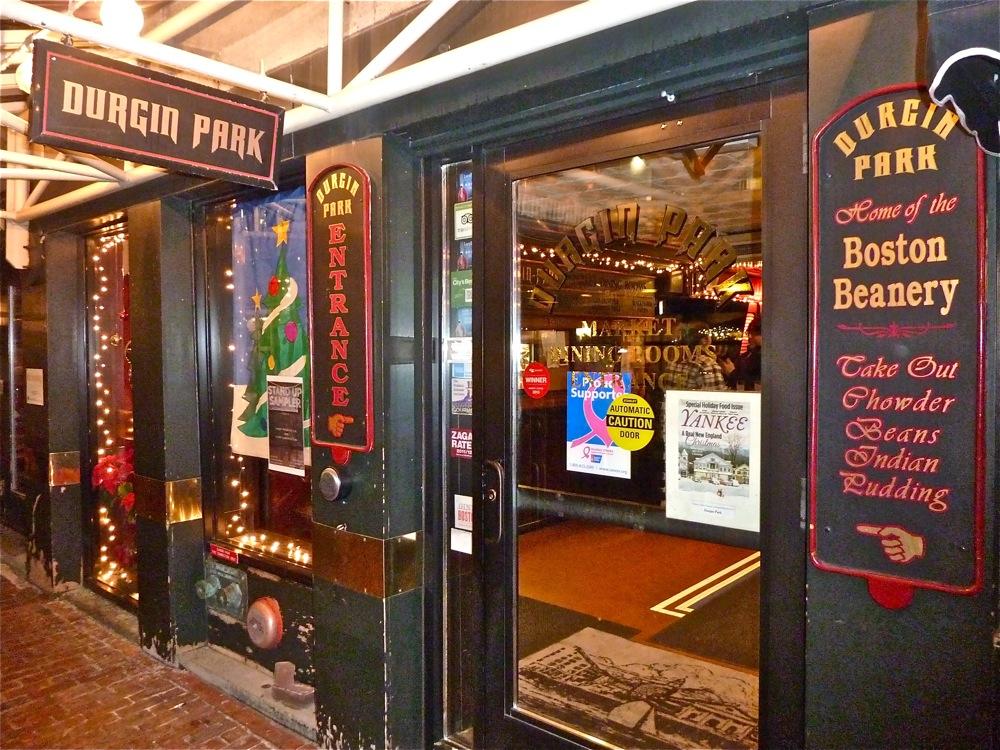 Durgin Park Restaurant Boston Menu