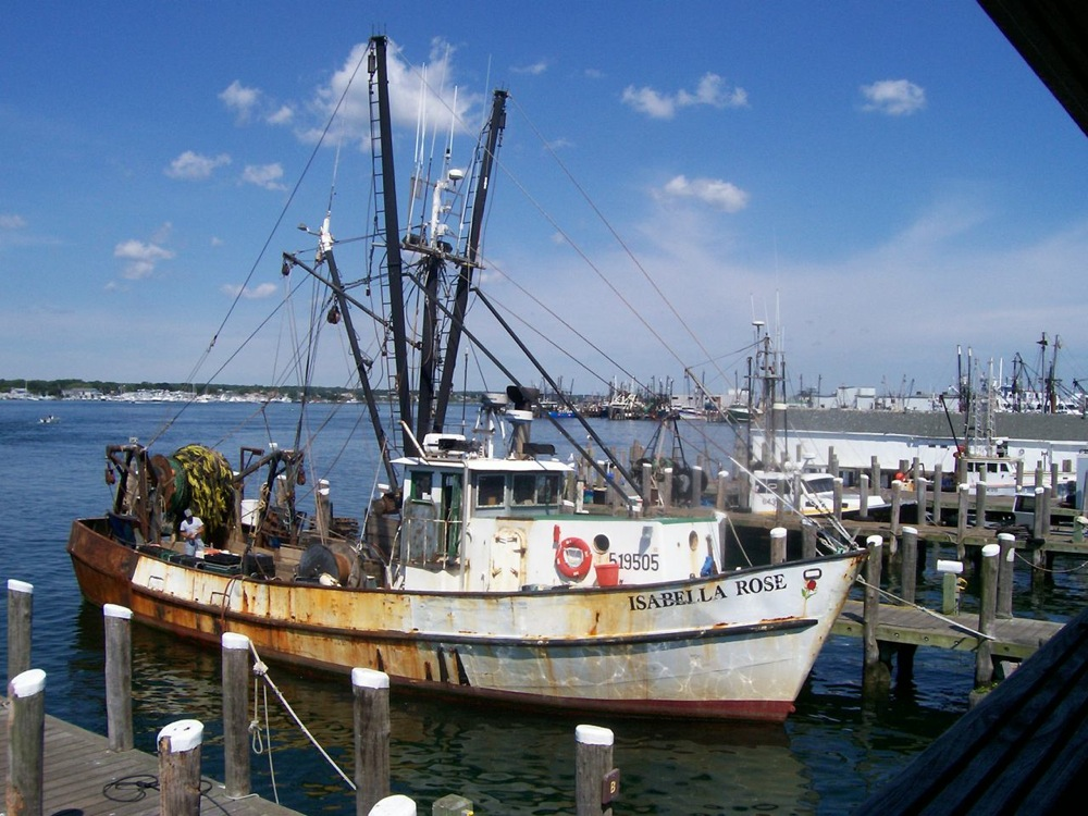 Galilee in Narragansett, Rhode Island -- an authentic, live fishing village.