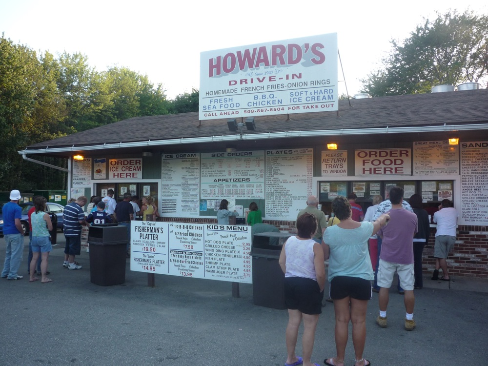 Howard's Drive-In, West Brookfield, Massachusetts