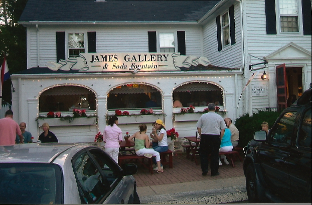 James Gallery Ice Cream, Old Saybrook, CT