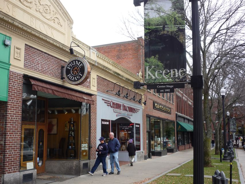 Keene NH Main Street downtown photo