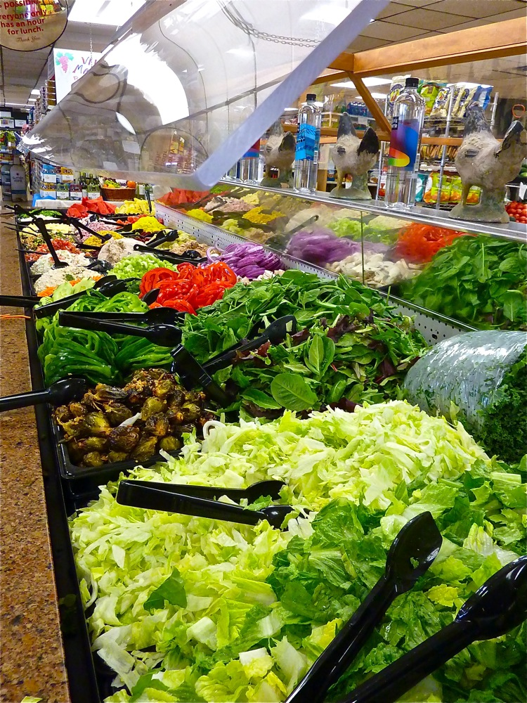 Lambert's salad bar in Westwood, Massachusetts