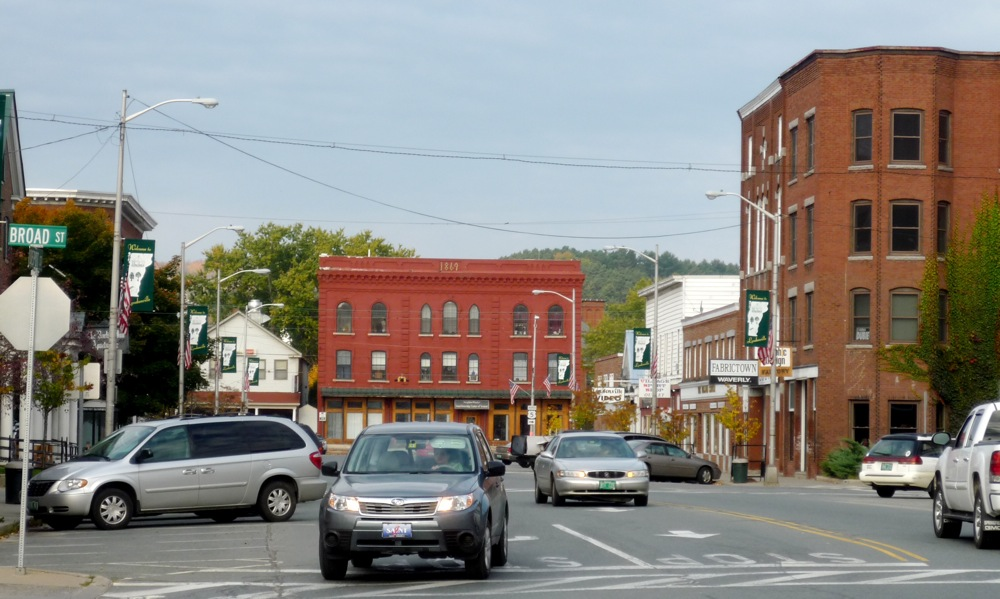 Downtown Lyndonville, Vermont