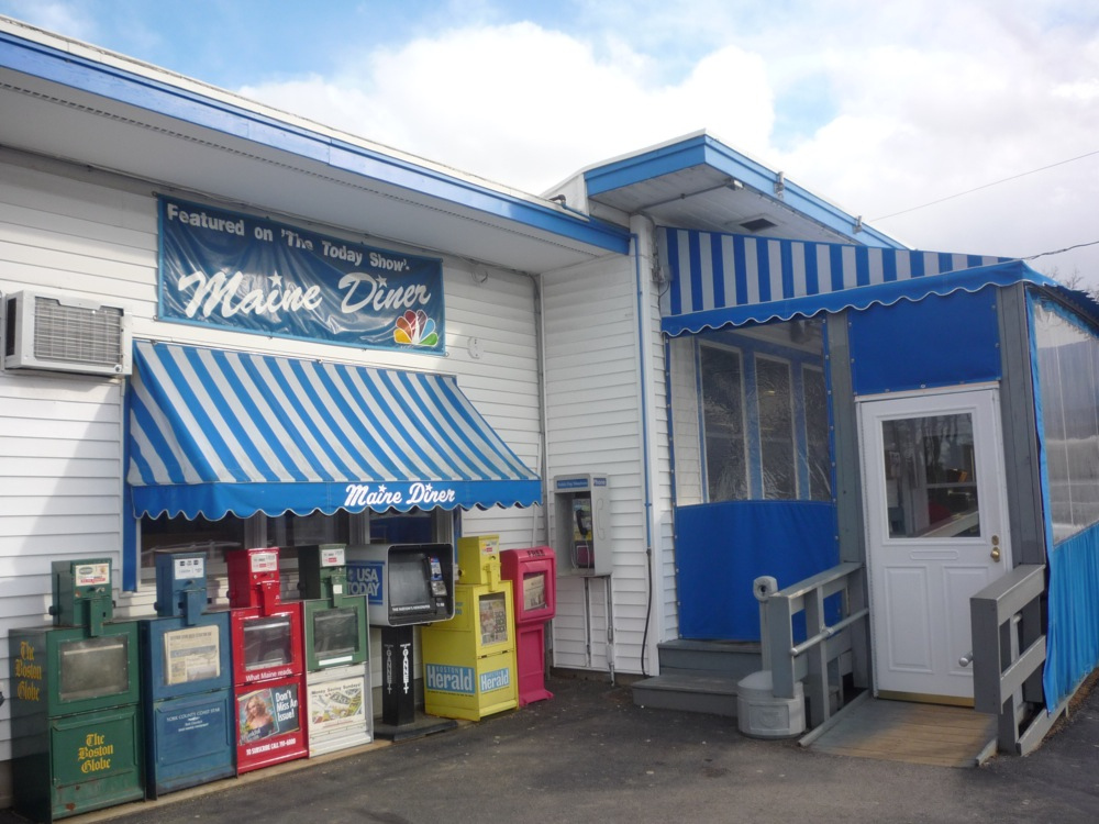 The Maine Diner is Wells, Maine, is one of the best diners in New England, according to VisitingNewEngland.