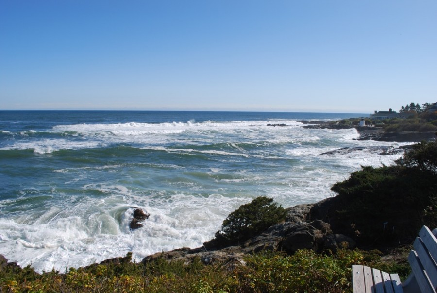Marginal Way in Ogunquit, Maine offers one of the most beautiful coastal walks in New England.