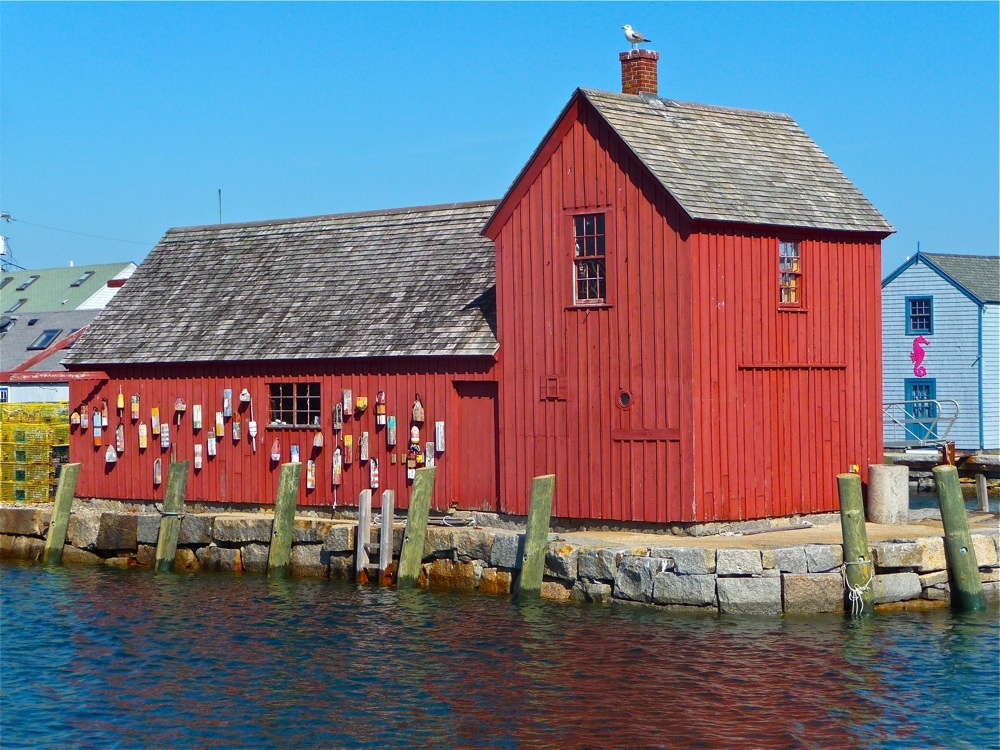 Motif #1 red building in Rockport, Mass.