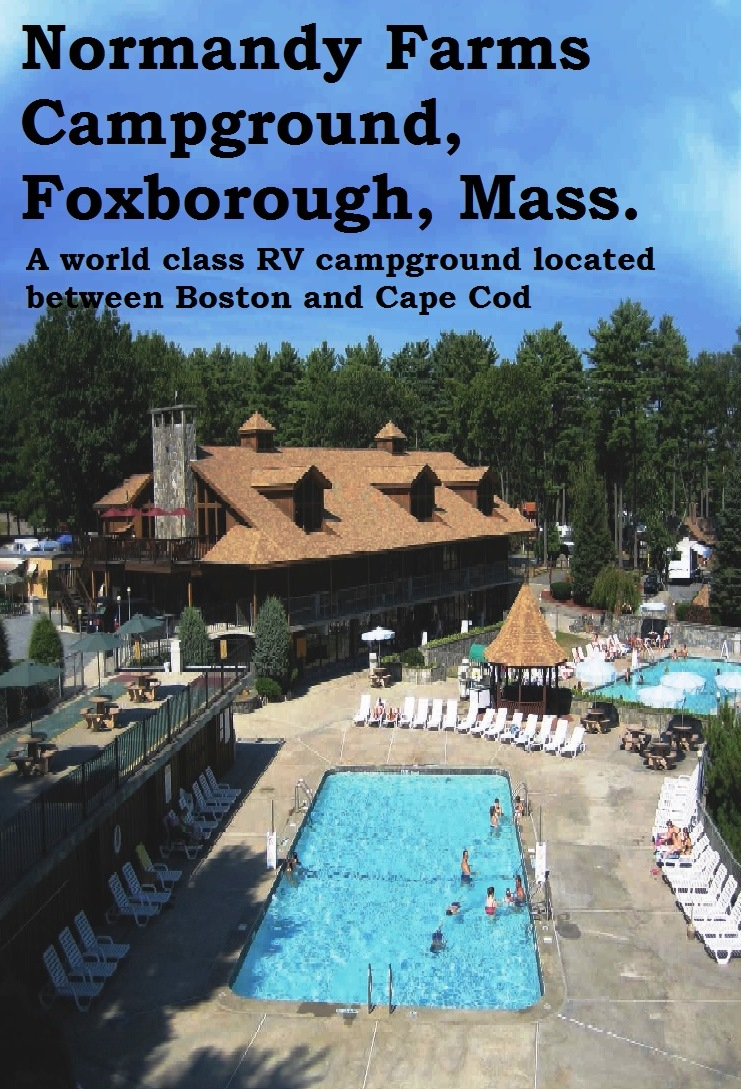 Normandy Farms in Foxborough, Mass., is a summer family vacation campground with the rustic charm of a traditional campground and the luxuries of a resort.