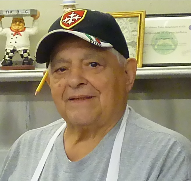 Babe Oliva, owner of Oliva's Market in Milford, Mass.