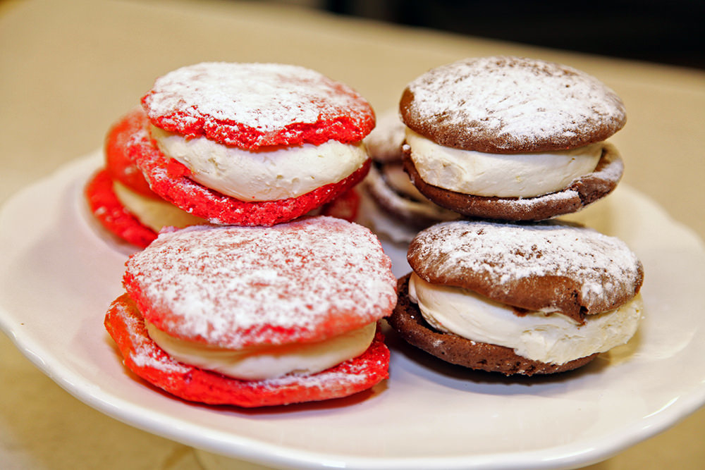 Whoopie pies from Oliva's Market in Milford, Mass.
