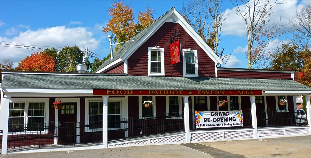 Patriot Tavern restaurant and bar, Walpole, Massachusetts