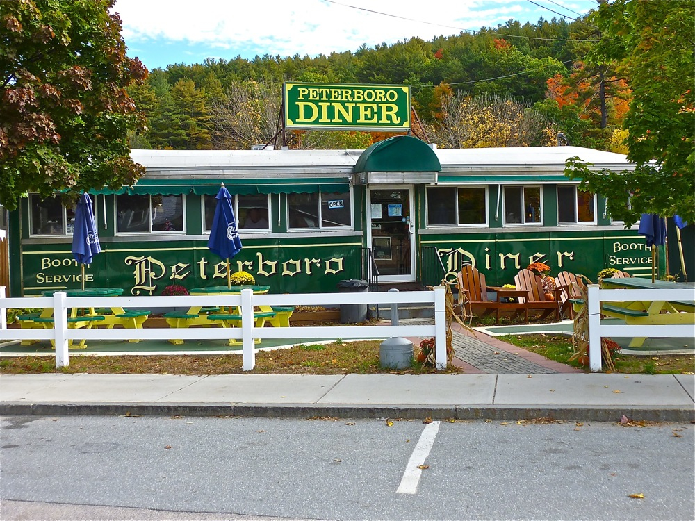Peterborough Diner in Peterborough, New Hampshire.