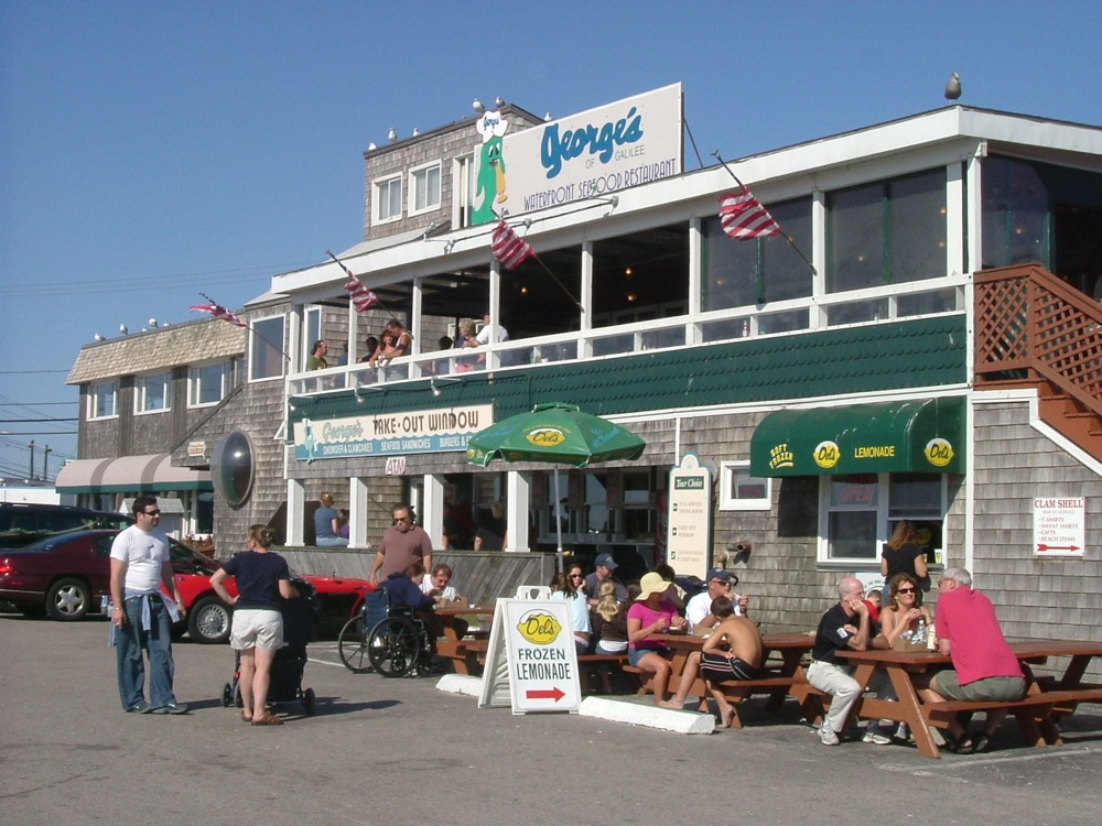 George's of Galilee in Narragansett, Rhode Island