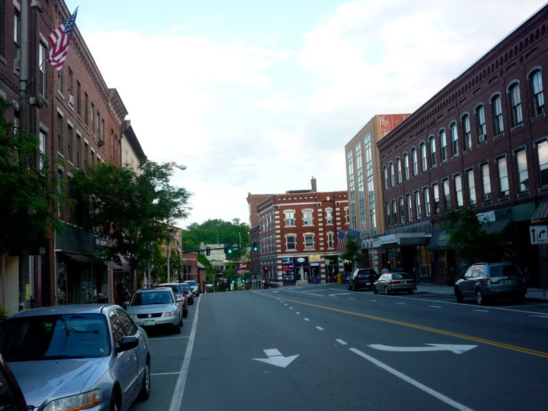 Picture of downtown Brattleboro Vermont