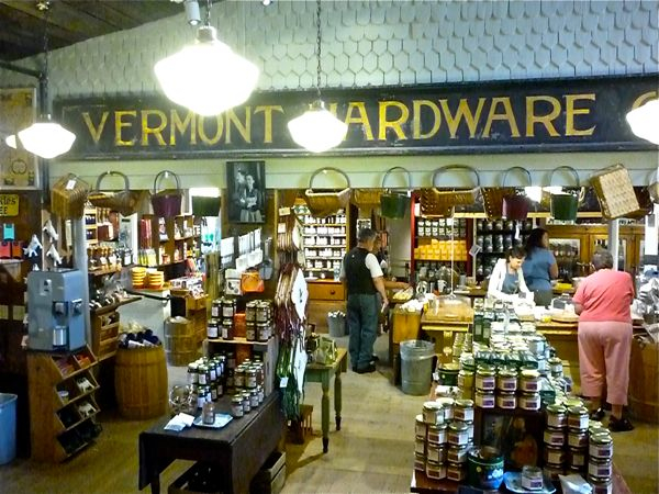 Vermont Country Store hardware department, Weston VT