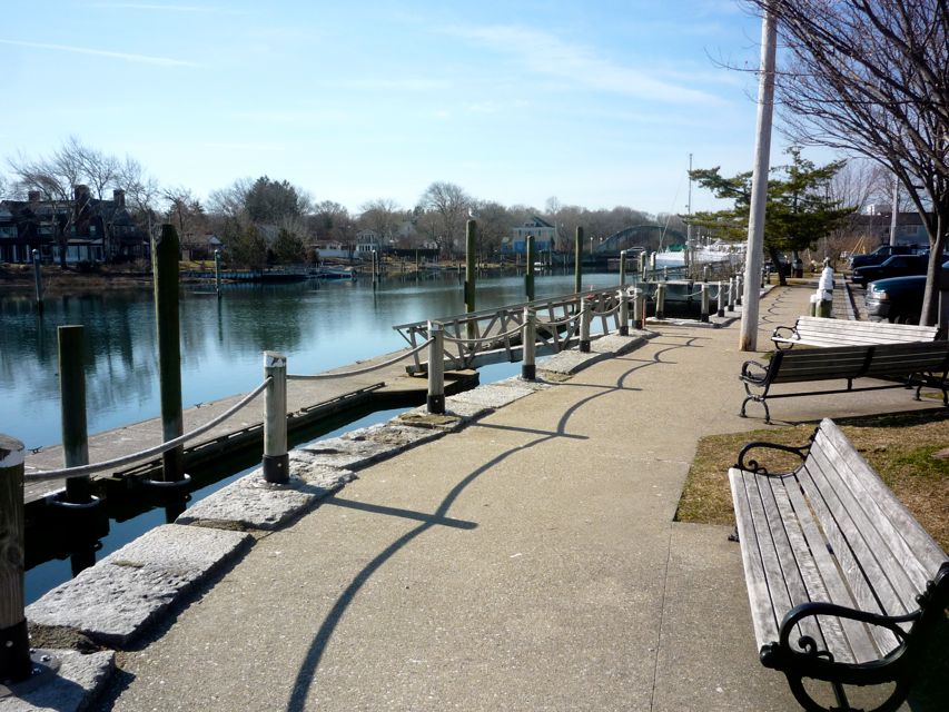 Image of Wickford Village harbor walk, Wickford Village RI