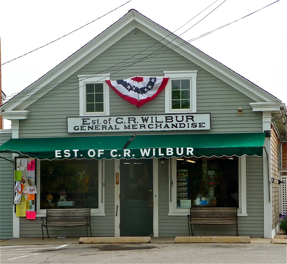 Wilbur General Store in Little Compton RI.