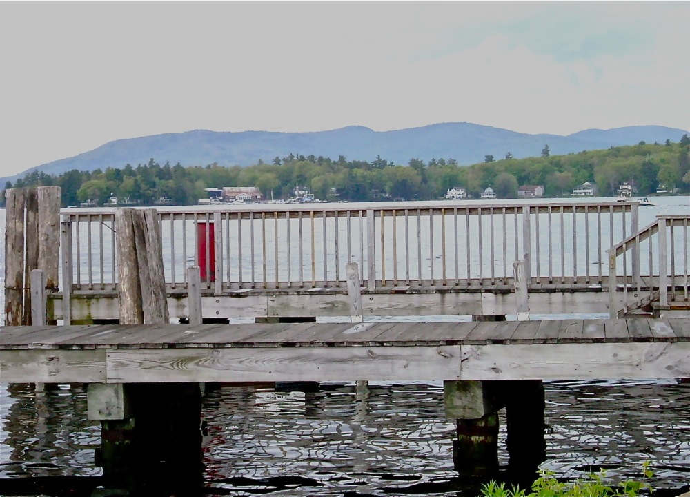 Wolfeboro NH - a beautiful mountain  and lake town.