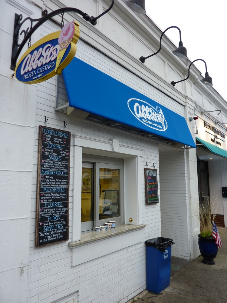 Abbott's Frozen Custard in Needham, Massachusetts.