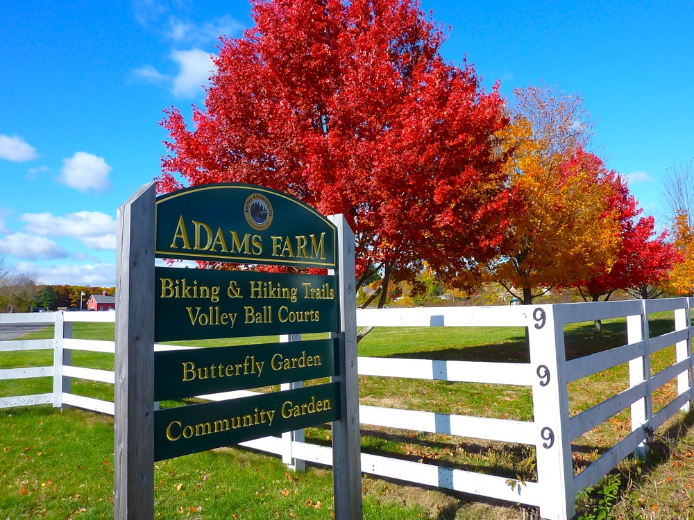 Adams Farm on North Street in Walpole MA