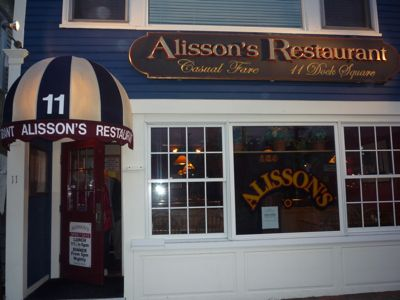 Alison's restaurant photo, Kennebunkport, Maine