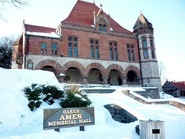 Ames Memorial Hall, Easton, MA
