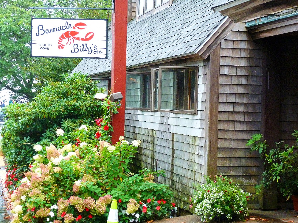 Barnacle Billy's at Perkins Cove in Ogunquit, ME