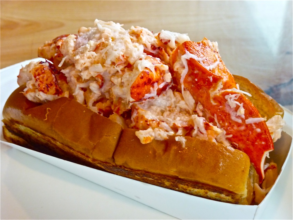 Lobster roll from the Beach Plum in North Hampton, N.H.