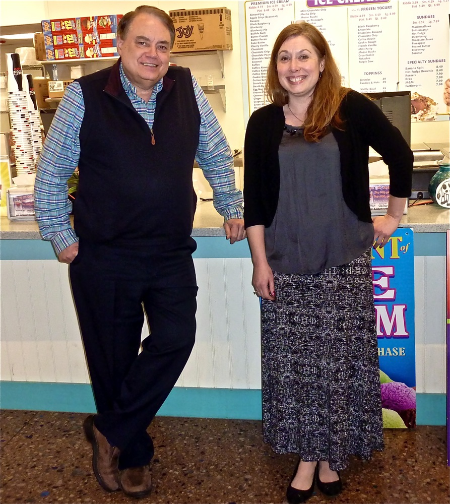 Bob Lee, owner of the Beach Plum in New Hampshire, and Lorraine Petrini, director of marketing