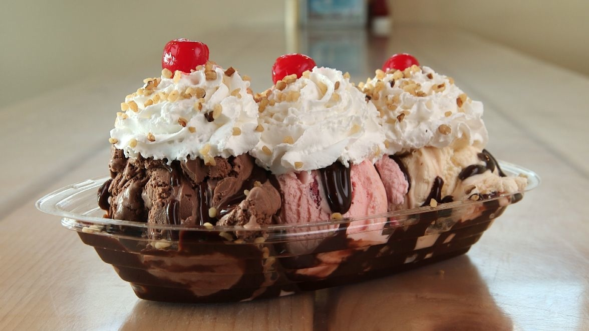 Mouthwatering sundae from the Beach Plum in North Hampton, N.H.