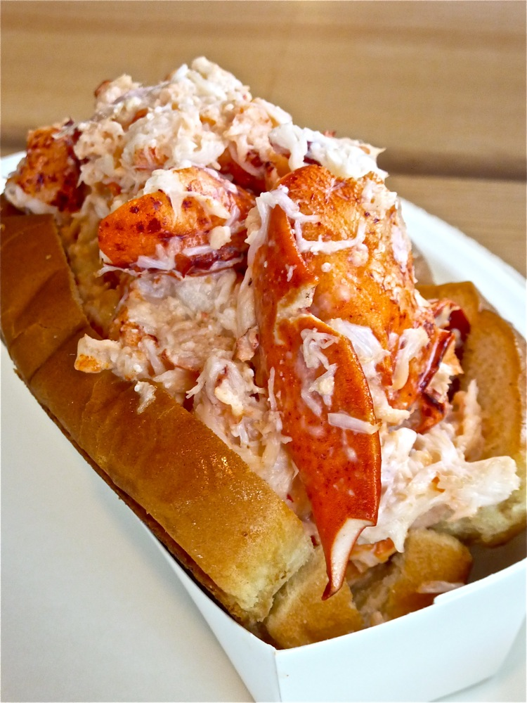 Overflowing lobster roll from the Beach Plum in Epping, N.H.