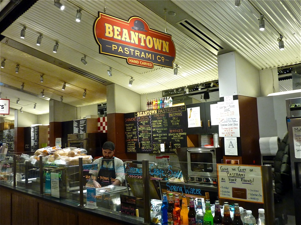 Beantown Pastrami Co, at the Boston Public Market in Boston, Mass.