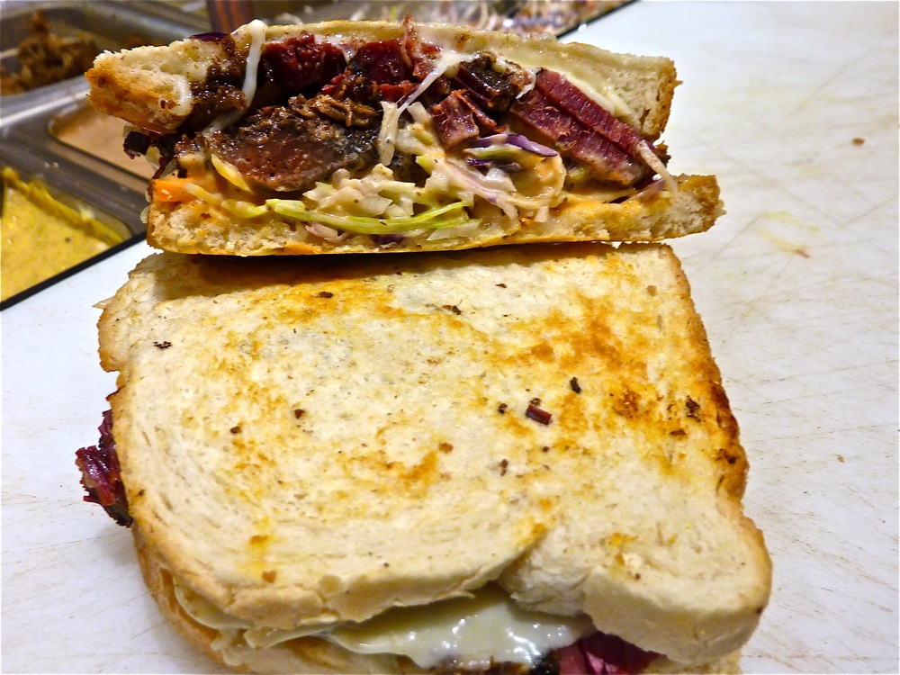 Reuben Sandwich from Beantown Pastrami in Boston MA.