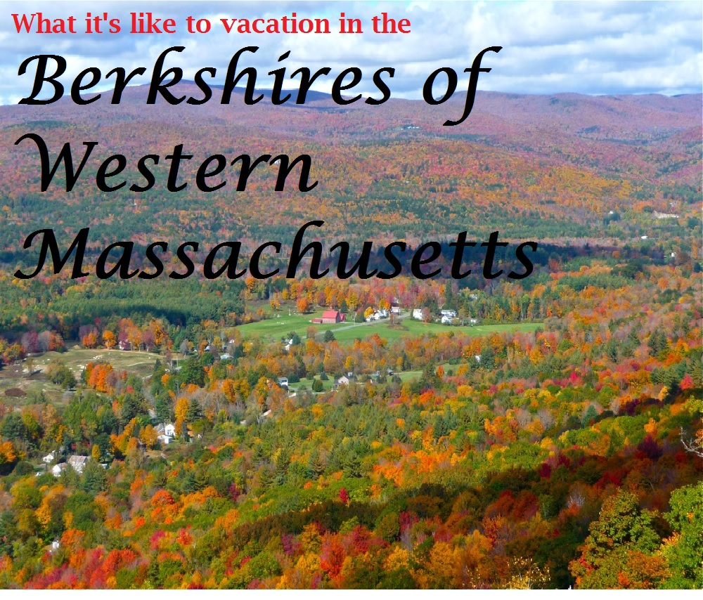 The Berkshires of Western Massachusetts is ideal for a vacation filled with mountain and lake scenery, relaxation, quaint small towns and culture.