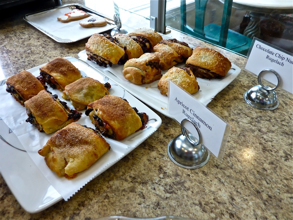Delicious rugelach from Bibi Cafe and Bakery in Westwood, Massachusetts