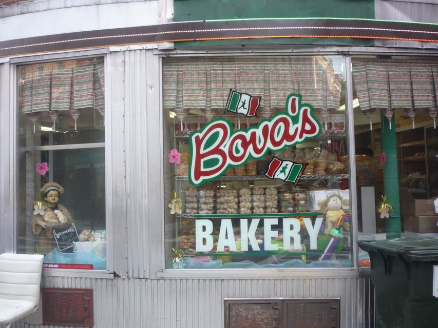 Bova's Bakery Storefront, North End Boston MA