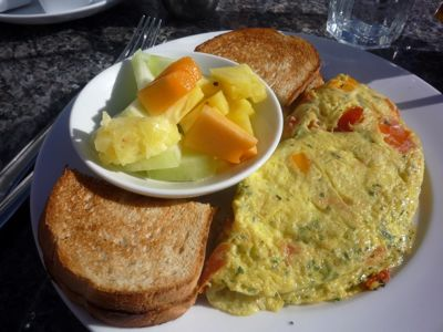 Picture of breakfast at 123 Inn, York Beach