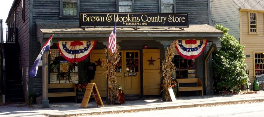 Brown and Hopkins Country Store in Chepachet RI